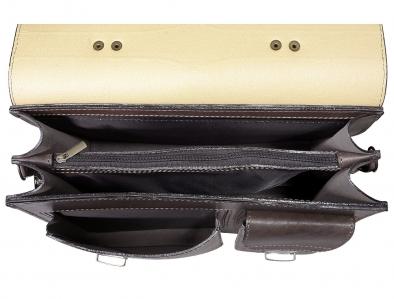 Портфель Sacvoyage ПАВ-2К коричневый