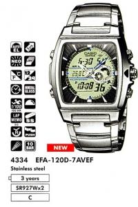 Casio EFA-120D-7A