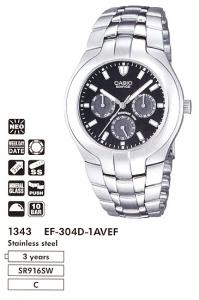 Casio EF-304D-1A