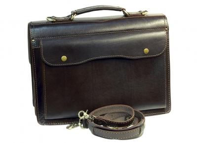 Портфель Unileather 030 коричневый