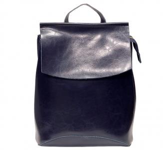 Рюкзак женский кожаный Pyato 807 Blue