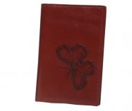 Обложка на паспорт Wanlima 50040940149A2 Red