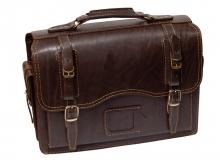 Портфель Unileather 012-2 коричневый